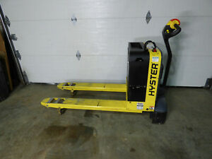 Hyster W40z Electric Pallet Jack 4000lb 61 Hour s Nice