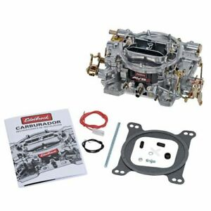 Edelbrock 1902 Avs2 500 Cfm Carburetor With Manual Choke Satin Finish non egr