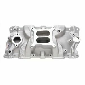 Edelbrock 2701 Performer Eps Intake Manifold For 1955 1986 Chevy Small Block