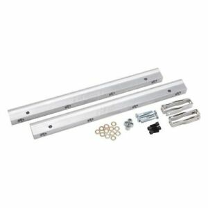 Edelbrock 3620 Fuel Injection Fuel Rail Kit 6 An Clear For Ford Small Block