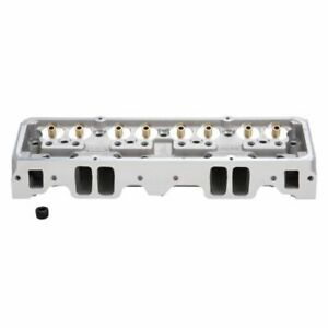 Edelbrock 60887 Nhra 64cc Straight Bare Cylinder Head For Chevy Small Block