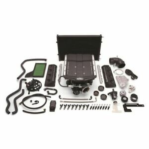 Edelbrock 15864 E Force Stage 2 Track Systems Supercharger Kit For Ford Mustang