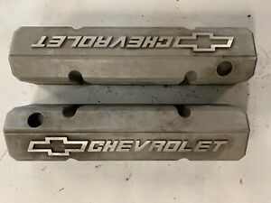 Chevy Bowtie Small Block Aluminumn Valve Covers Gm Performance 10185064 J16485