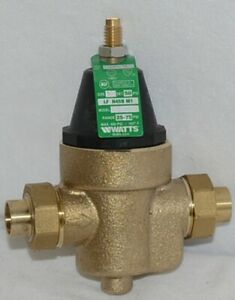 Watts Water Pressure Reducing Valve 1 2 Inch Connection 0009474
