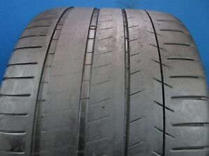 Used Michelin Pilot Super Sport Zp 335 25zr 20 6 32 Tread 1212f