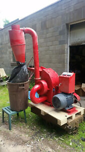 Hammer Mill Feed Grinder 15hp 220v 3ph Electric Powered Usa In stock W support