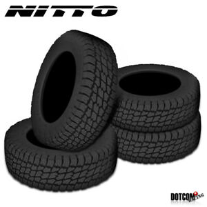 4 X New Nitto Terra Grappler 265 70r16 112s All Terrain Tire