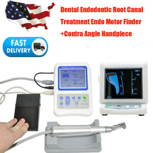 Dental Endodontic Root Canal Treatment Endo Motor Finder Apex Locator Handpiece