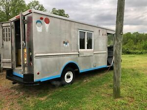 Chevrolet P30 22 Stepvan Ice Cream Empty Food Truck For Sale In North Caroli