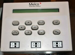 Melco Embroidery Emt Phase Ii f1 Keyboard Assembly Face 009448 04 W Switches