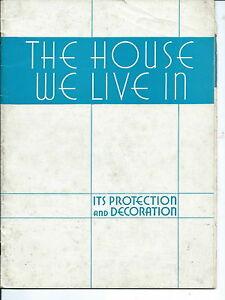 NA-076 - House We Live In  National Lead Co  Dutch Boy Paints  1936 Decorating