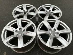 Stunning Genuine Factory Oem Audi R8 18 Rims In Excellent Condition 9 5 10