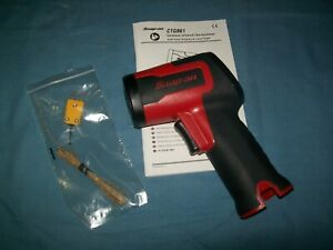 New Snap on Cordless Microlithium Infrared Temperature Gun Thermometer Ctg861db
