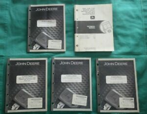 John Deere 300d 310d 315d Backhoe Loader Operation Test Set Of 5 Manuals