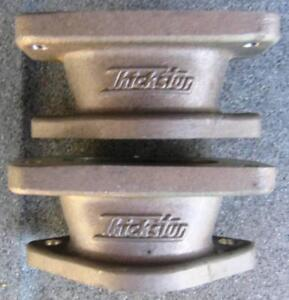 Two Thickstun Carburetor Adapters Hot Rod Intake Carb Stromberg Flathead Inline