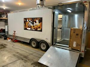 2015 Freedom 6 X 22 Food Concession Trailer With 6 Porch And 16 Kitchen For