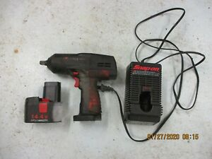 Snap on 1 2 Cordless Impact Ct3450 Battery And Charger
