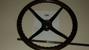 Early Vintage Wood Steering Wheel Packard Stutz pierce Arrow Locomobile Mar