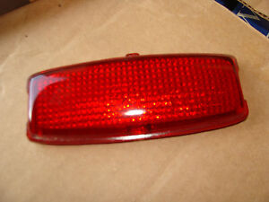 A Pair Of 1941 42 Chevy Tail Light Lenses Q 3