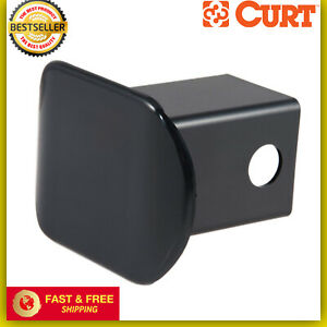 Plastic Trailer Hitch Tube Cover Plug Cap 2 X 2 Inch Receiver Opening Black