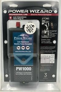 Power Wizard Professional Line Electric Fence Energizer 029349011027