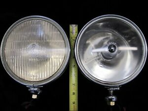 Lucas Slr700s Sft700s Spot Fog Light Pair Genuine Original Vintage