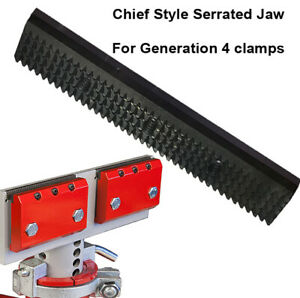 Replacement Serrated Jaw Grip For Chief Style Clamps G4