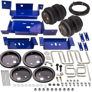 Rear Air Helper Spring Bag Lines Suspension Level Kit For Ford F250 F350 99 07