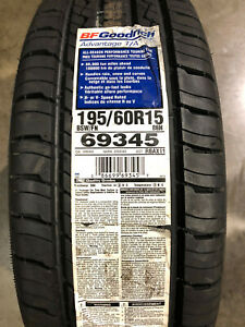 1 New 195 60 15 88h Bfgoodrich Advantage T a Tire
