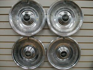 1969 Buick Riviera Wheelcover Wheel Covers Hubcaps Oem Set 69