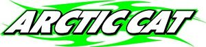Arctic Cat Tribal Snowmobile Vinyl Stickers Decal Set Of 2 10
