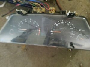 1993 94 Subaru Loyale Gl Instrument Gauge Cluster Speedometer Mt Manual