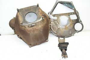 Big Block Ford Bellhousing Dust Shield And Clutch Fork 460 429 351 400 M