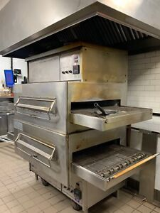 Middleby Marshall 360q Double Stack Conveyor Pizza Oven