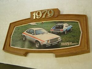 Oem Ford 1979 Mercury Bobcat Showroom Display Picture