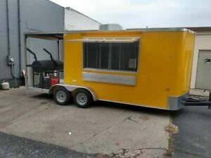2018 Kenda Lone Star 7 X 23 Barbecue Food Trailer With Porch used Bbq Trailer