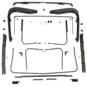 Omix Ada 13510 03 Factory Soft Top Hardware For 97 06 Jeep Wrangler Tj