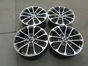 18 Ford F150 Factory Oem Fx4 Charcole Machiend Wheels Rims