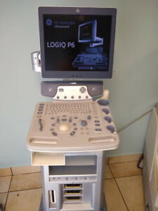 Used Logiq P6 Shared Service Ultrasound