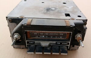 1977 Oldsmobile Cutlass Am Fm 8 Track Stereo Radio