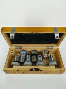 Set Of Removable Lenses objective For The Microscope Lomo Ussr
