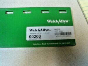 Welch Allyn 00200 2 5v Vacuum Lamp Replacement Bulbs Box Of 6 New Sealed