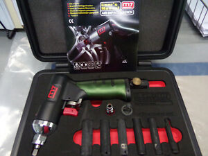 Might Seven Nc 0208 8 Piece 1 4 Drive Air Impact Wrench Set New In Box W manual