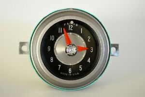 1955 Chrysler Windsor New Yorker C300 Dash Clock