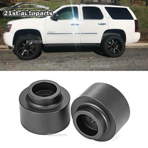 2 Rear Leveling Lift Spacer Kit For 01 21 Chevrolet Avalanche Tahoe Suburban