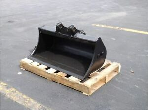 New 36 Case Cx36 Ditch Cleaning Bucket With Pins