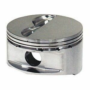 Je Pistons 181957 350 400 18 Degree Flat Top Piston For Small Block Chevy New