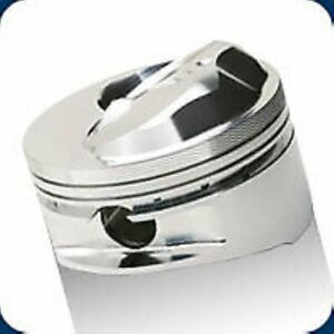 Je Pistons 257943 Big Block Inverted Dome Top Pistons Forged 4 530 Inch Bore New