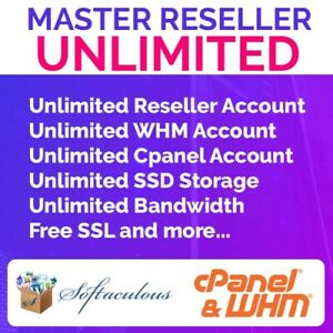 Master Reseller Unlimited Cpanal And Whm Free Ssl Automated Billing System