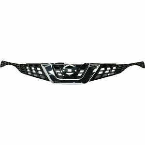 For 2015 2017 Nissan Juke Front Bumper Upper Grille W Hole For Front Monitor